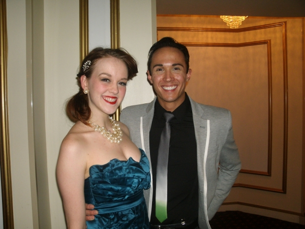 Tiffany Trainer and Mathew de Guzman at HOT MIKADO At Drury Lane Theatre
