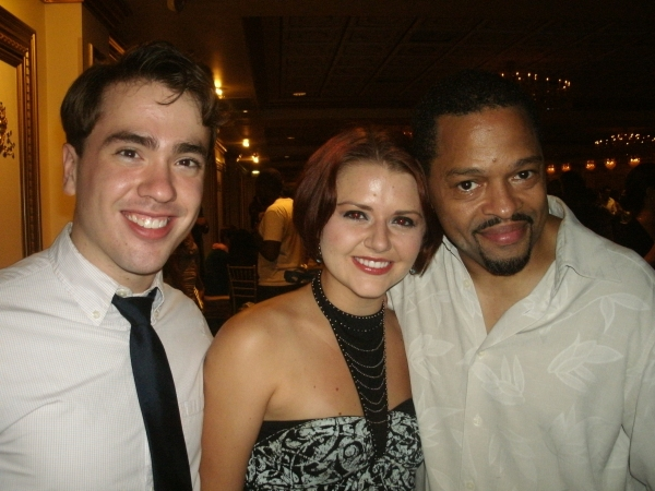 Nate Lewellyn, Katie Spelman, and Ted Louis Levy
