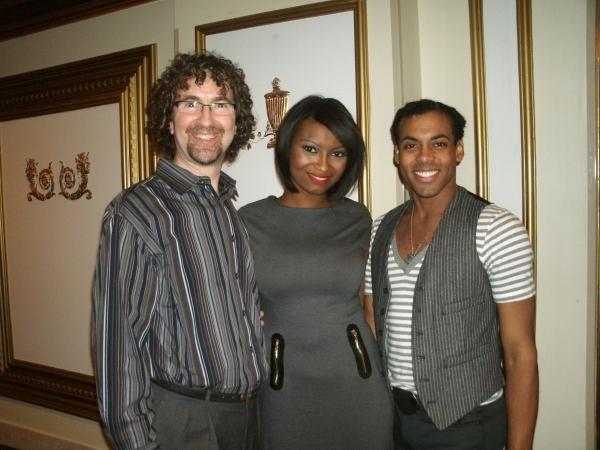 Paul Thompson, Julia Black, Stephane Duret Photo