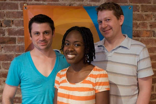 "David Stallings, Lavita Shaurice Burr (GLAAD Winner ""She Like Girls"") and Mark Emerson"