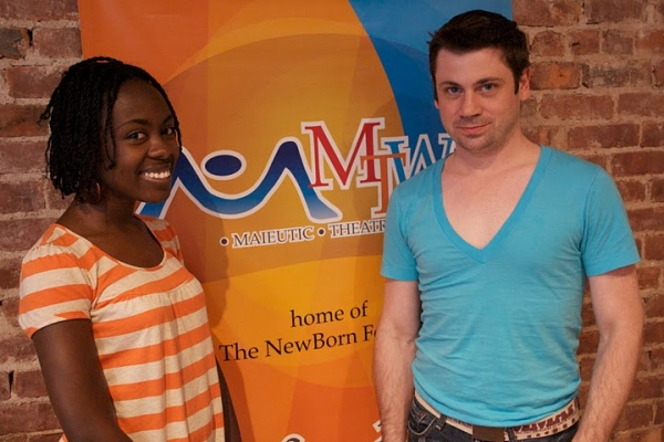 "Lavita Shaurice Burr (GLAAD Winner ""She Like Girls"") and David Stallings"