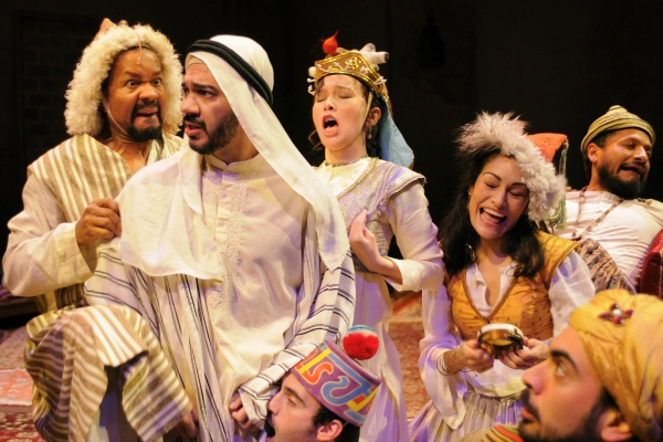 Photo Flash: Berkeley Repertory Theatre Presents THE ARABIAN NIGHTS