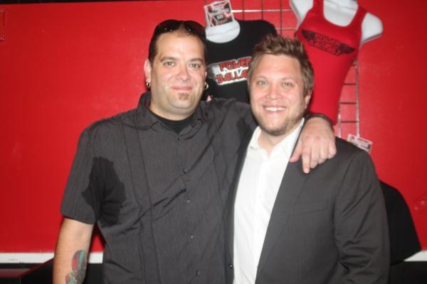 Producer/Creator/Director Mike Todaro and Producer/Creator/Video Designer Dan Nycklemoe