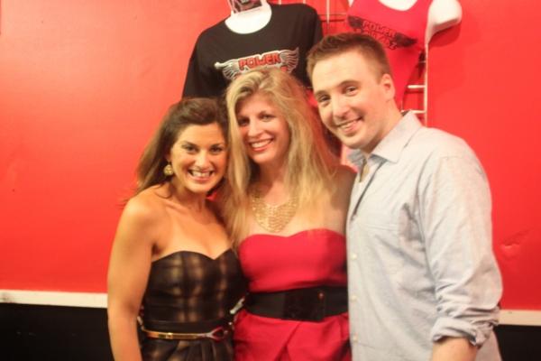 Melanie Kann, Music Director Karen Dryer and Peter Zielinski Photo