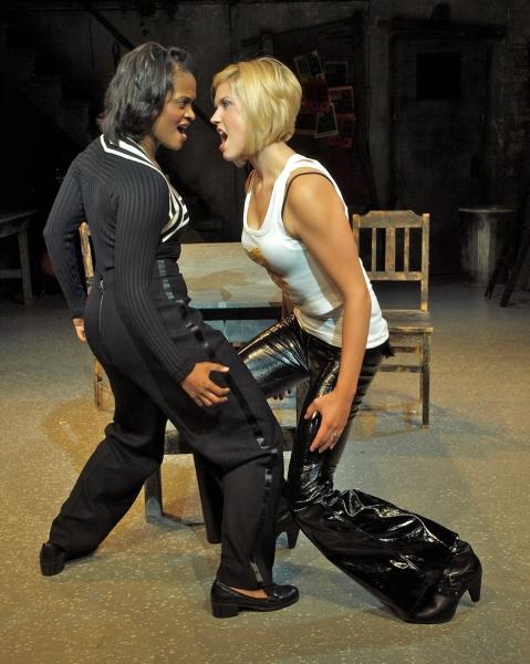 Gabrielle Reid and Sara Ruzicka