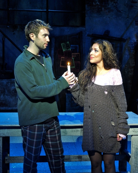 Mark Ayesh (Roger) and Steena Fernandez (Mimi)  at More Pictures of RENT at WBT