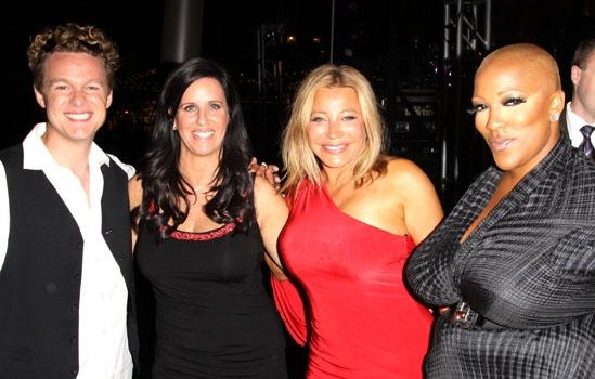 Jake Simpson, Patti Stanger, Taylor Dayne & Frenchie Davis at The Americana at Brand
