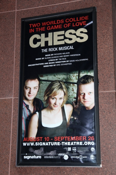 Photo Coverage Exclusive: CHESS at Signature Theatre - Backstage
