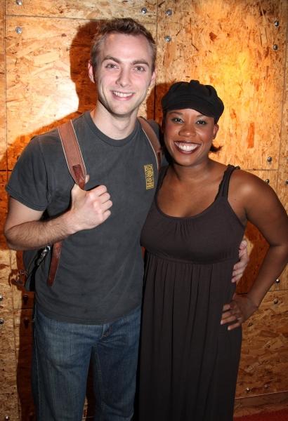 Gregory Maheu and Eleasha Gamble Photo