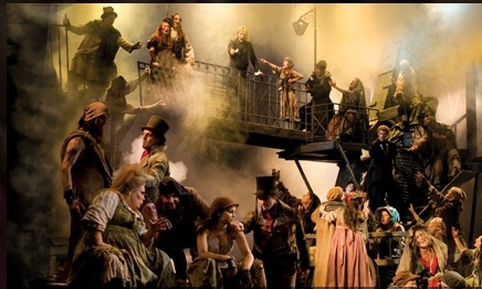 Photo Coverage: Norm Lewis Leads LES MISERABLES in London