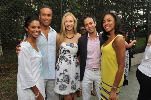 Andrea and Maurice Dubois with friends