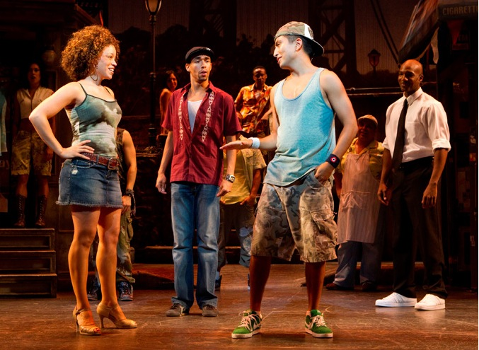 Photo Flash: First Look - Jordin Sparks in IN THE HEIGHTS!