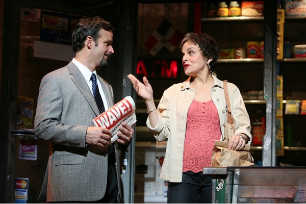 Rick Negron and Priscilla Lopez