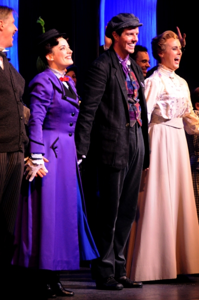 Karl Kenzler, Laura Michelle Kelly, Gavin Lee and Megan Osterhaus