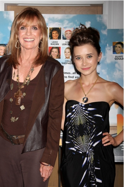 Linda Gray and Olesya Rulin