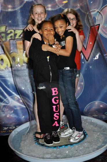 Maddy Novak, Brianna Fragomeni, Eboni Edwards and Kendra Tate (Billy Elliot) Photo