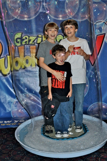 Gabriel Rush, Ben Cook and Seth Fromowitz (Billy Elliot)