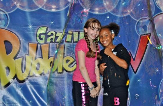 Holly Taylor and Eboni Edwards (Billy Elliot) Photo