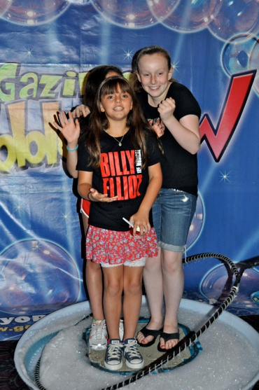 Georgi James and Maddy Novak (Billy Elliot) at 'Broadway Brain Freeze' with BILLY, POPPINS and More
