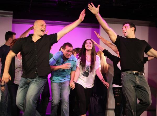 Chad Kessler, Erik Ransom, Ashley Holmes and Eric Carpenter