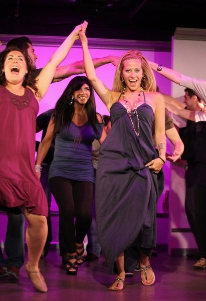 Leah Gerstel, Dina Manzo and Teresa Giudice with Company