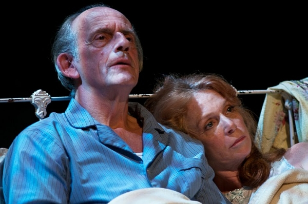 Christopher Lloyd, Amy Van Nostrand at DEATH OF A SALESMAN At Weston Playhouse