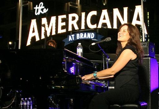 Paula Cole at The Americana at Brand