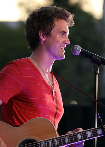 Tyler Hilton at The Americana at Brand