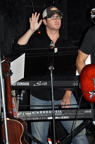 Brian Nash at Rob Evan and Menrva Realm Live in Concert
