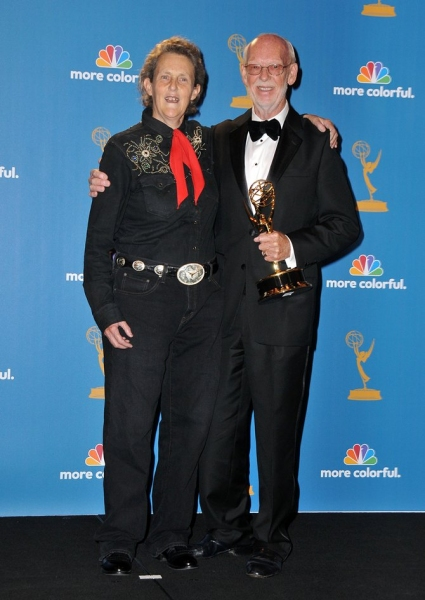 Temple Grandin and Mick Jackson