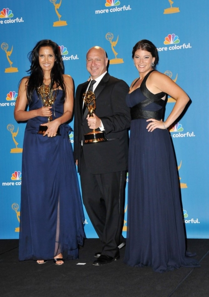 Padma Lakshmi, Tom Colicchio and Gail Simmons