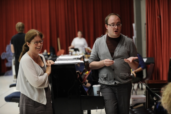 Mary Zimmerman and Musical Director Doug Peck