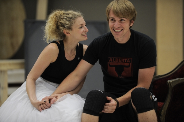 Photo Flash: Packard, Molina et al. in Rehearsal for Goodman's CANDIDE