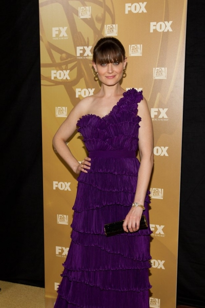 Emily Deschanel at 2010 Emmy Coverage - FOX After-Party