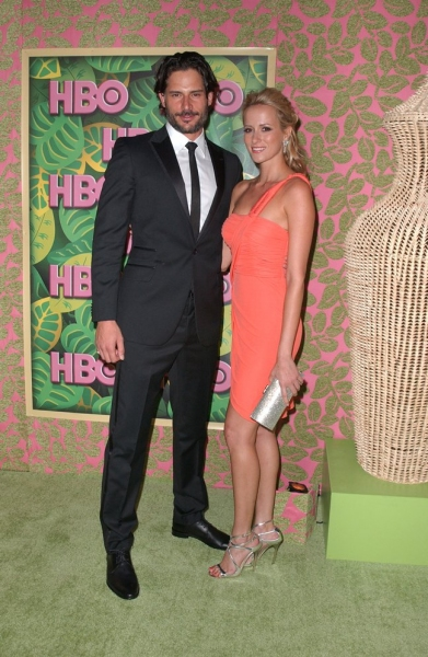 Joe Manganiello and Guest at 2010 Emmy Coverage - HBO After-Party