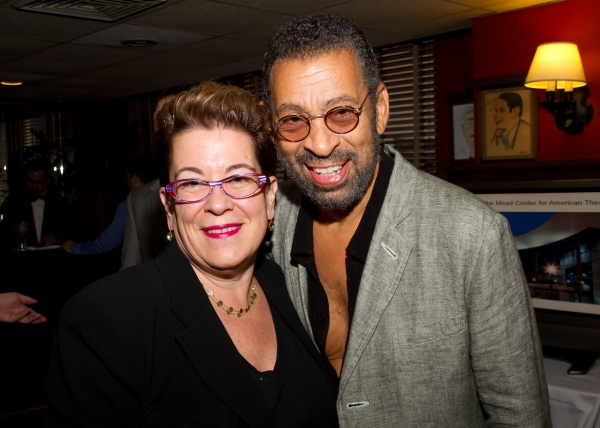 Photo Flash: Leon, Nottage et al. Celebrate Arena Stage at Sardi's Reception
