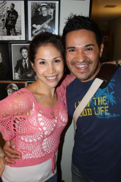 Bianca Marroquin and Roberto Araujo