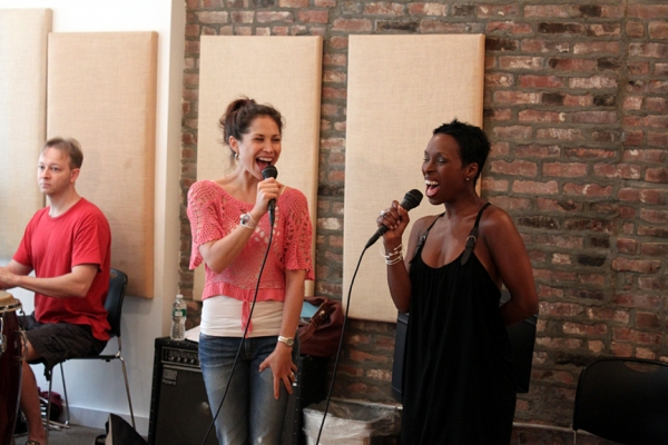 Photo Flash: To Mexico From New York With Love In Rehearsal