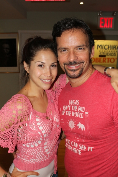 Bianca Marroquin and Rick Negron
