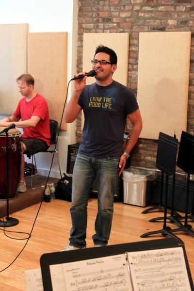 Roberto Araujo at To Mexico From New York With Love In Rehearsal