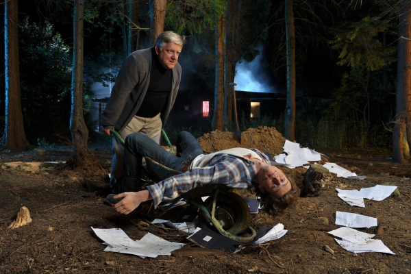 Photo Flash: DEATHTRAP with Beale and Groff