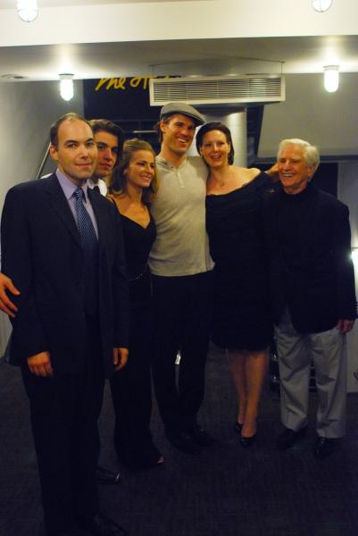 Brian Wallace, Andrew Veenstra, Margaret Copeland, Erik Heger, Director Kim Weild, Playwright Luigi Creatore