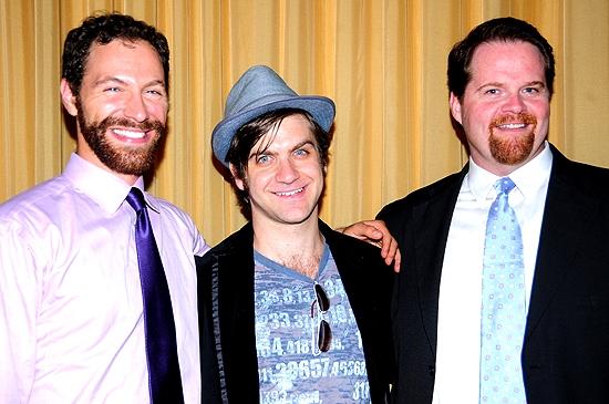 Daniel Kutner, Harris Doran & John Treacy Egan Photo