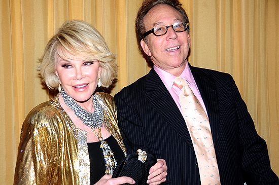 Joan Rivers & Kenny Solms  Photo