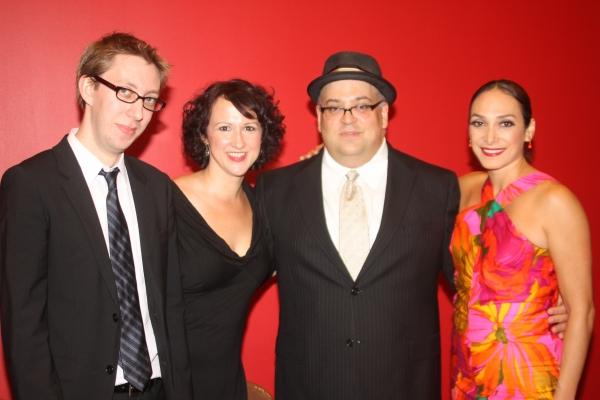 Cody Owen Stine, Christine Bokhour, Raymond Bokhour and Gabriela Garcia Photo