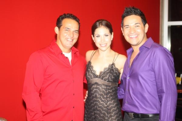 Ruben Flores, Bianca Marroquin and Roberto Araujo
