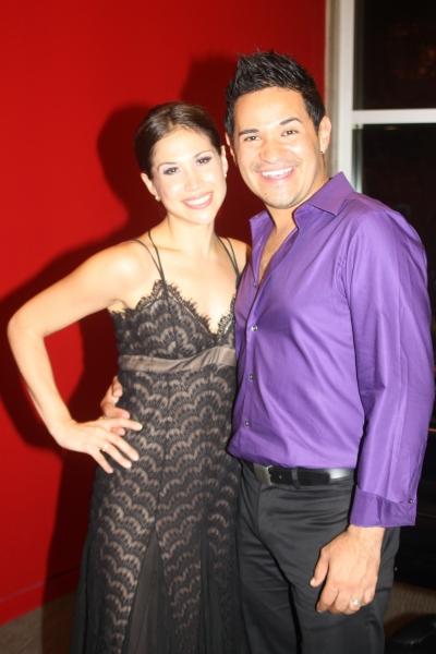 Bianca Marroquin and Roberto Araujo Photo