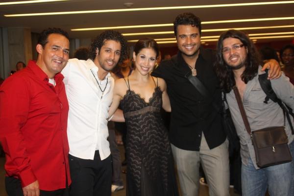 Ruben Flores, Luis Salgado, Bianca Marroquin, Jaime Camil and Jaime Lozano
