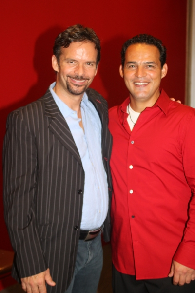 Rick Negron and Ruben Flores