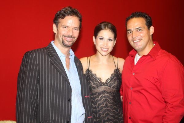 Rick Negron, Bianca Marroquin and Ruben Flores